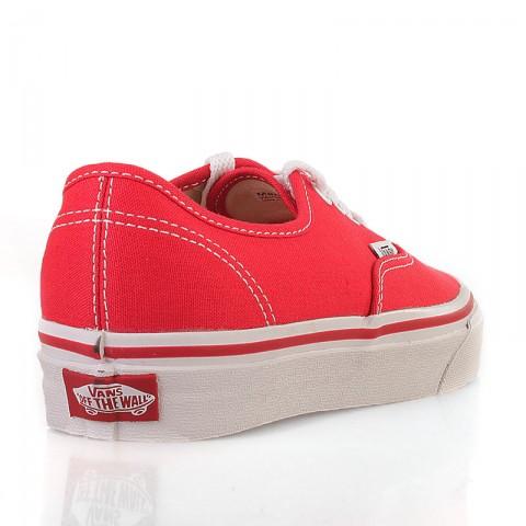 Купить мужские красные  кеды vans authentic trainer в магазинах Streetball - изображение 3 картинки