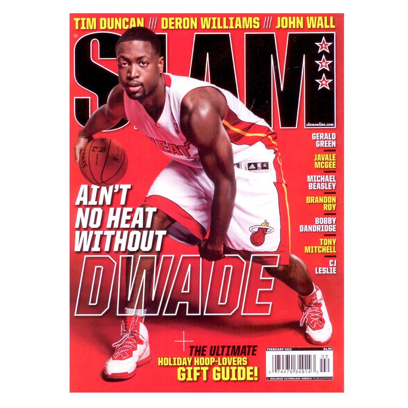 Купить  журнал slam февраль в магазинах Streetball изображение - 1 картинки