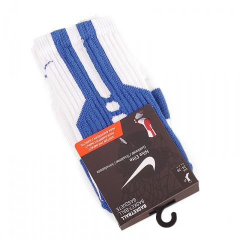 белые, синие  носки SX4668-106 - цена, описание, фото 1