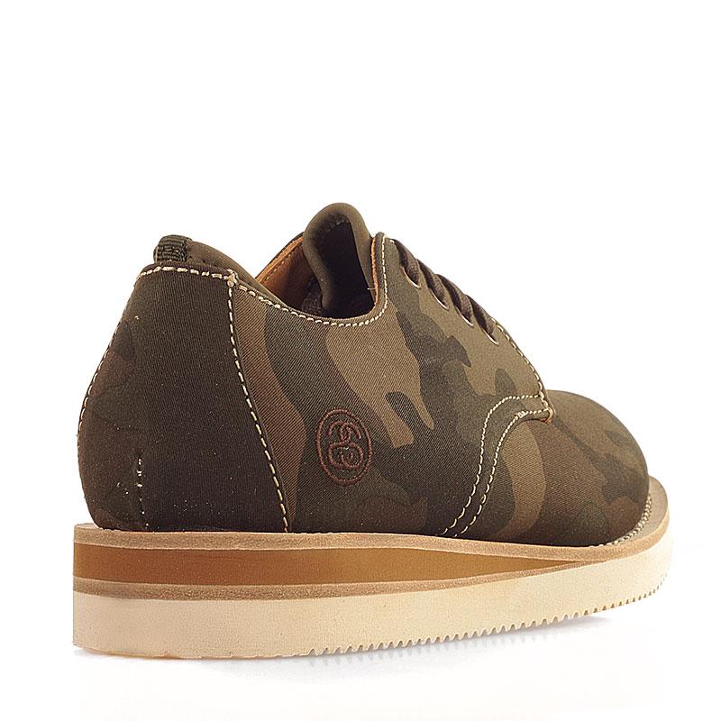 мужские болотные  ботинки stussy 438062-olive camo - цена, описание, фото 2