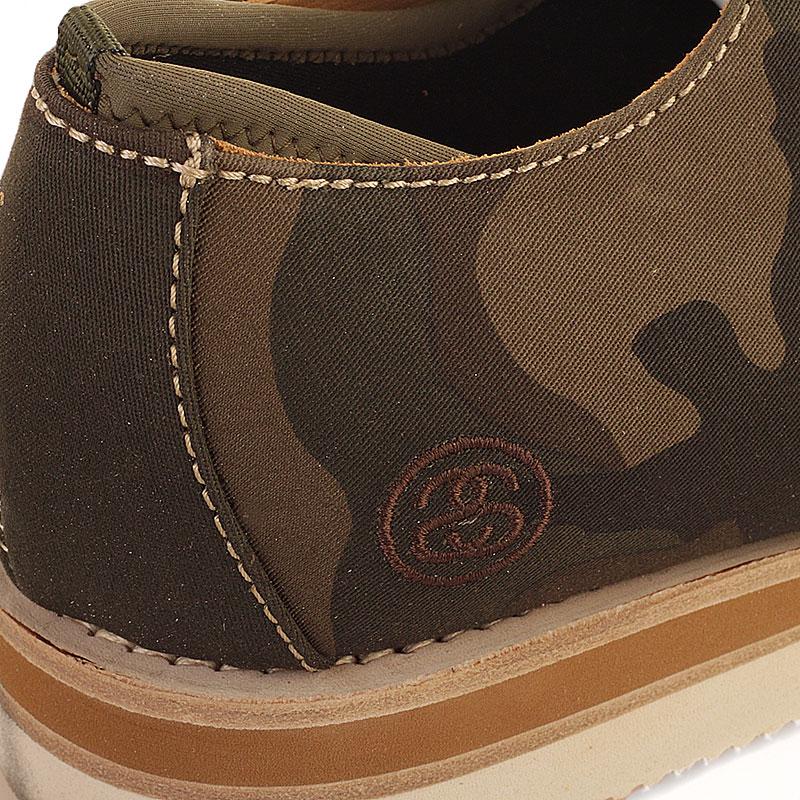мужские болотные  ботинки stussy 438062-olive camo - цена, описание, фото 3