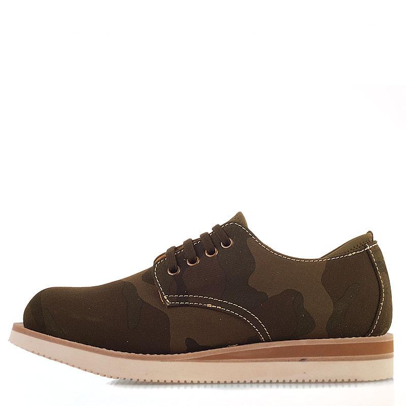 мужские болотные  ботинки stussy 438062-olive camo - цена, описание, фото 4