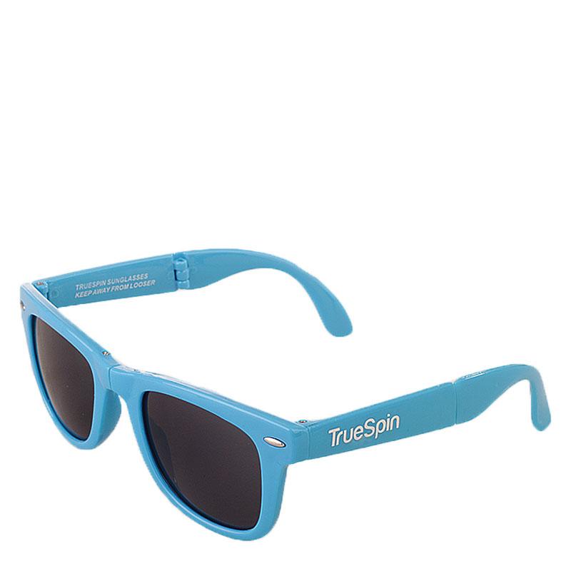 мужские синие  очки folding Sunglasses-blue - цена, описание, фото 1