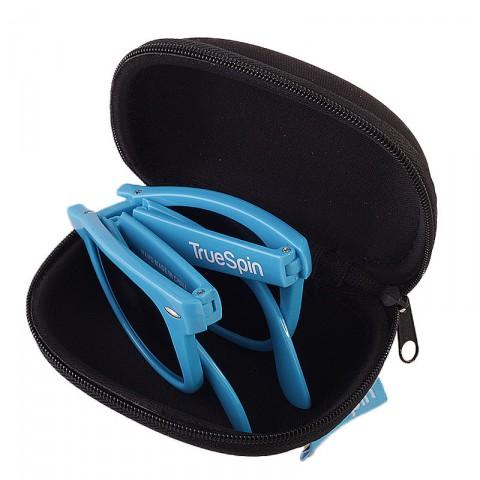 мужские синие  очки folding Sunglasses-blue - цена, описание, фото 2
