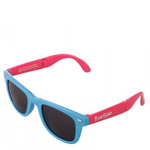 мужские синие, розовые  очки folding Sunglasses-blue-pink - цена, описание, фото 1