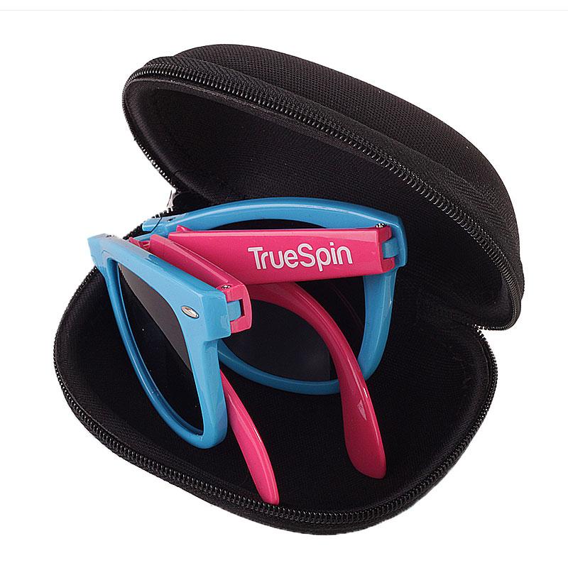 мужские синие, розовые  очки folding Sunglasses-blue-pink - цена, описание, фото 2