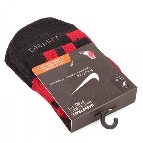 мужские черные, красные  носки SX4669-066 - цена, описание, фото 1
