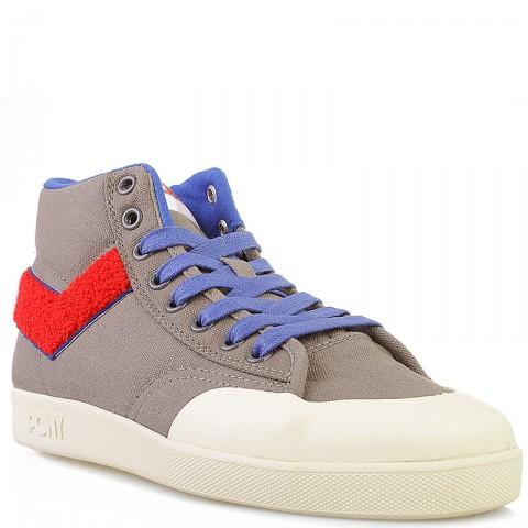 мужские серые  кроссовки vintage slamdunk 10113-FTR-39 - цена, описание, фото 1