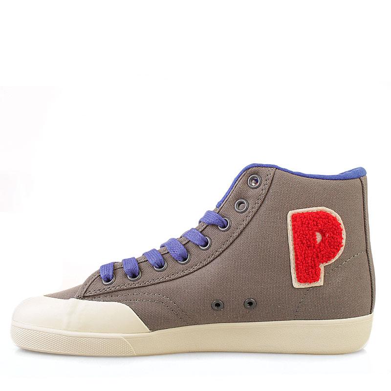 мужские серые  кроссовки vintage slamdunk 10113-FTR-39 - цена, описание, фото 3