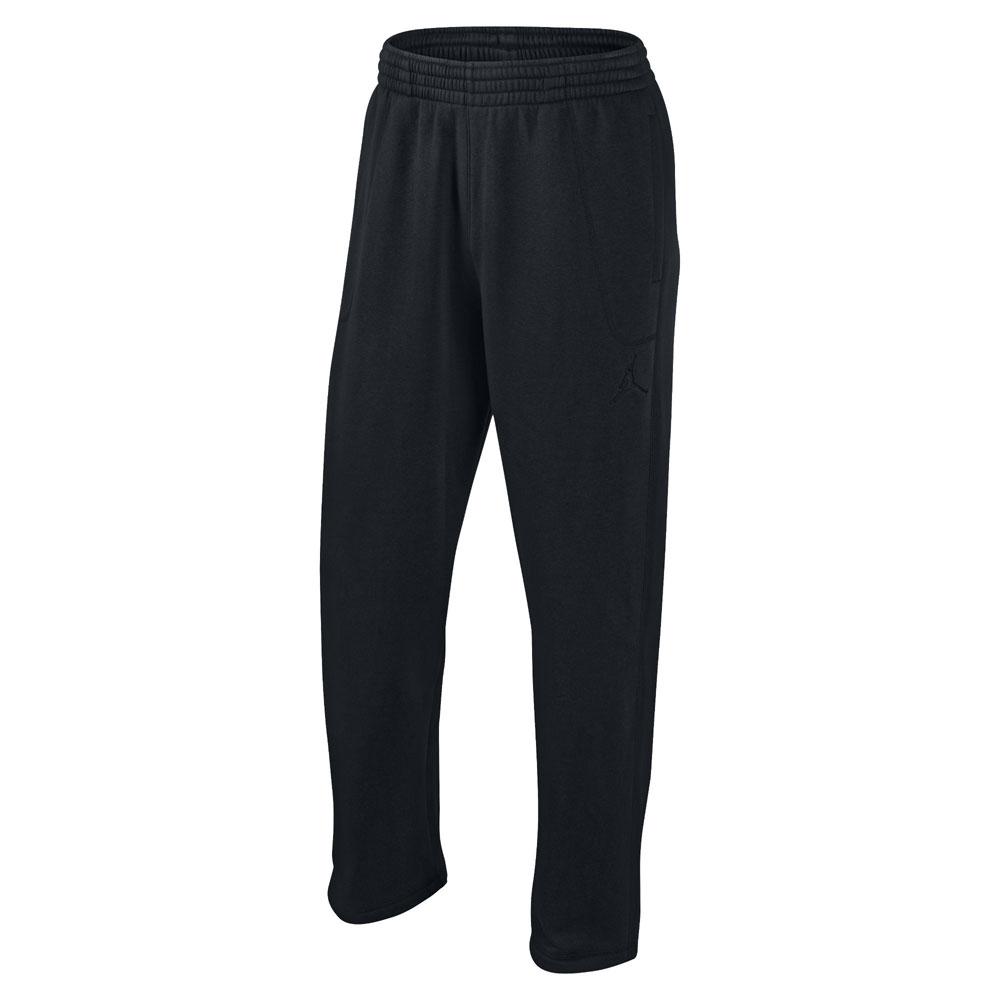 мужские черные  брюки jordan 23/7 fleece 547662-010 - цена, описание, фото 1