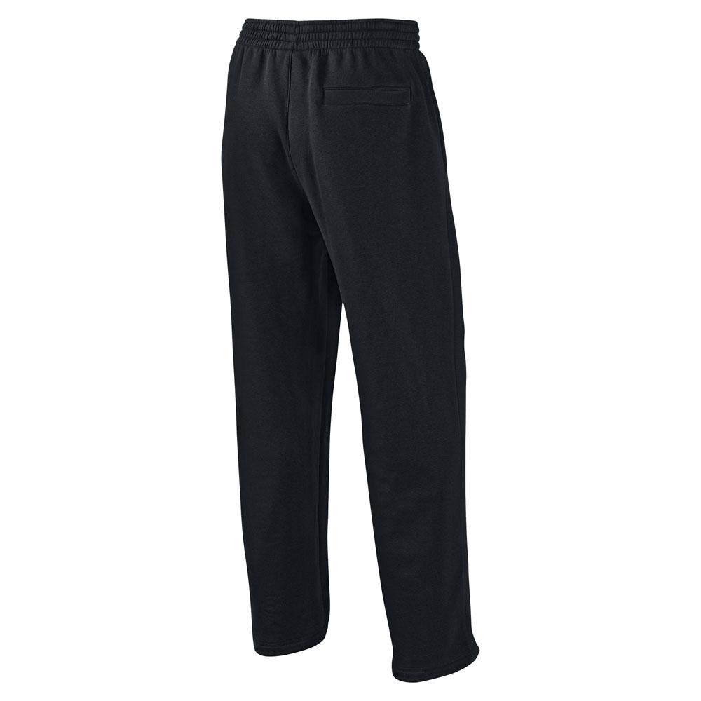 мужские черные  брюки jordan 23/7 fleece 547662-010 - цена, описание, фото 2