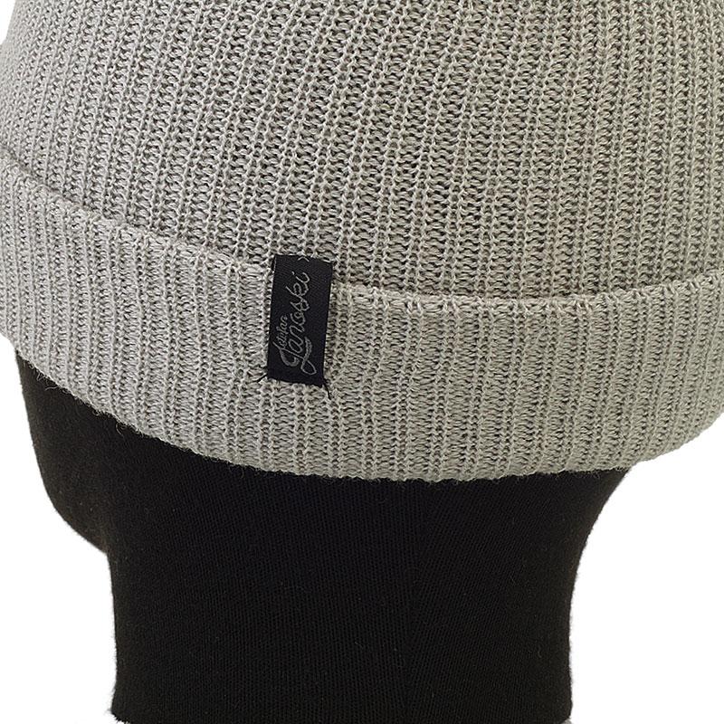 мужскую серую  шапка Official Beanie-wht - цена, описание, фото 2