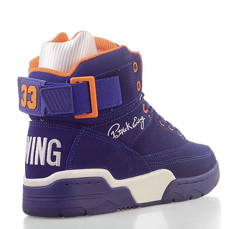 a4ac7ec6 Мужской Кроссовки Ewing 33 Hi от Ewing athletics (33 HI roy-wht-orn ...