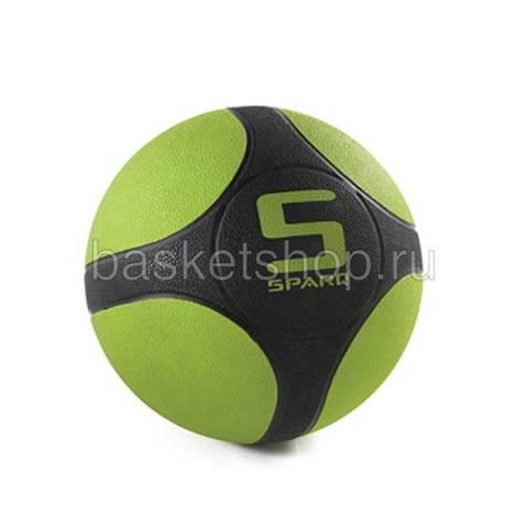 черный, зеленый  мяч для силовых тренировок ac1817-323 - цена, описание, фото 1
