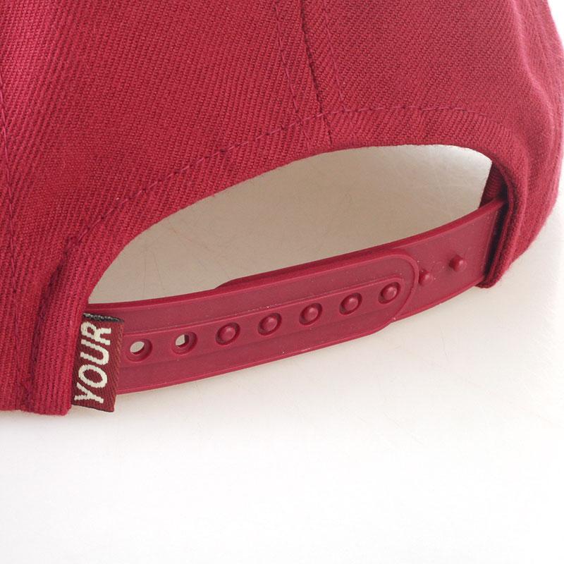 бордовую  кепка 5-panel-burgundy - цена, описание, фото 2