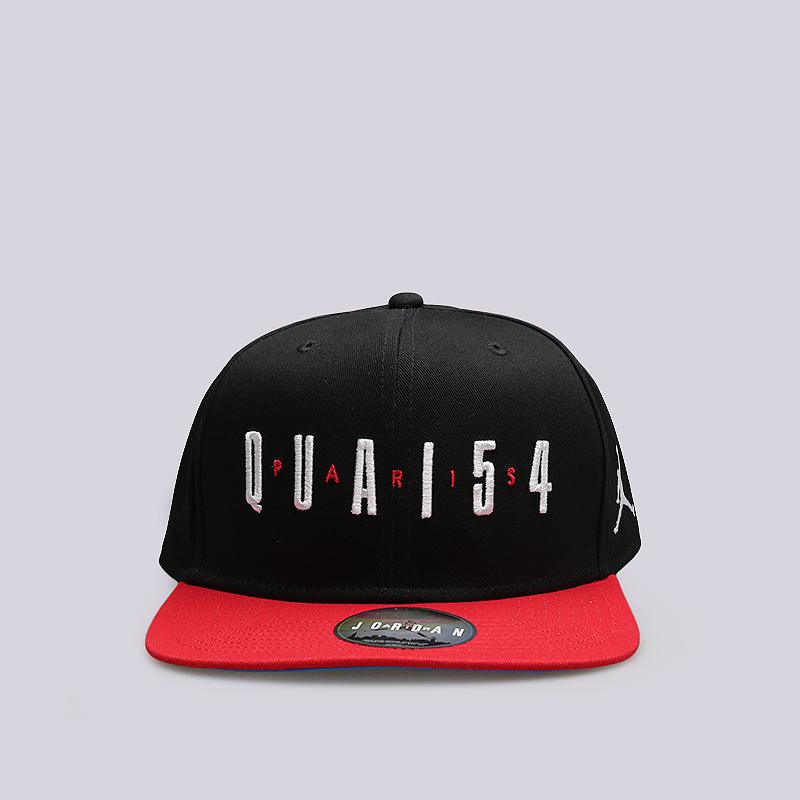 Кепка Jordan Q54 Pro SnapbackКепки<br>Хлопок<br><br>Цвет: Черный, красный, синий<br>Размеры US: OS