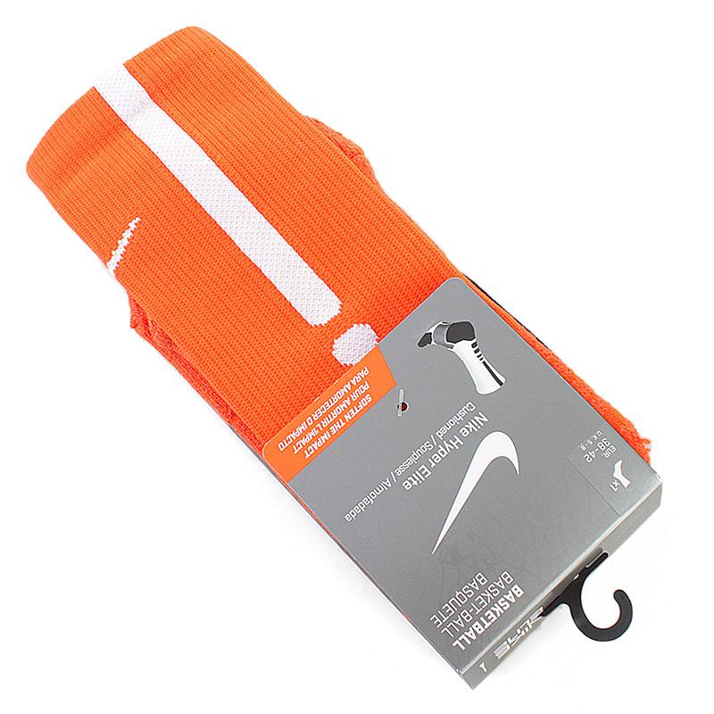 Носки Hyper EliteНоски<br>46% нейлон, 35% полиэфир, 13% хлопок, 6% эластан<br><br>Цвет: оранжевый<br>Размеры US: L;M;XL