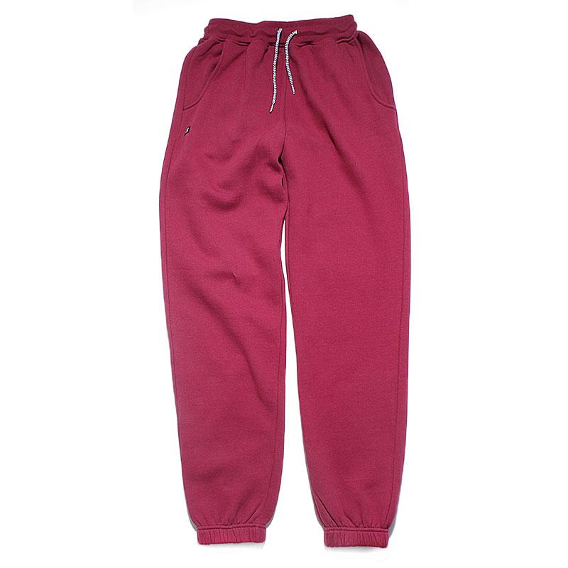 Брюки BasicБрюки и джинсы<br>80% хлопок, 20% полиэстер<br><br>Цвет: бордовый<br>Размеры US: S<br>Пол: Женский