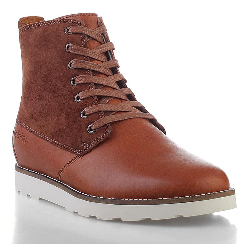 Купить мужские коричневые  ботинки caine в магазинах Streetball изображение - 1 картинки