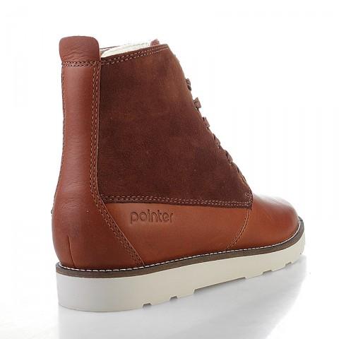 Купить мужские коричневые  ботинки caine в магазинах Streetball - изображение 2 картинки