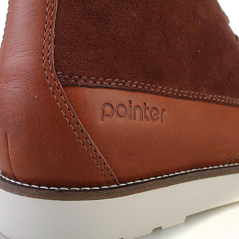 Купить мужские коричневые  ботинки caine в магазинах Streetball изображение - 3 картинки