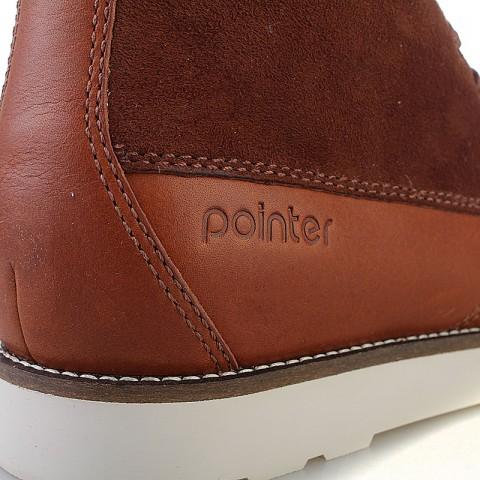 Купить мужские коричневые  ботинки caine в магазинах Streetball - изображение 3 картинки