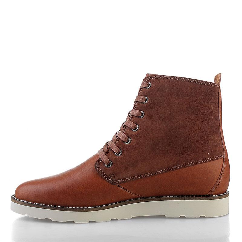 Купить мужские коричневые  ботинки caine в магазинах Streetball изображение - 4 картинки