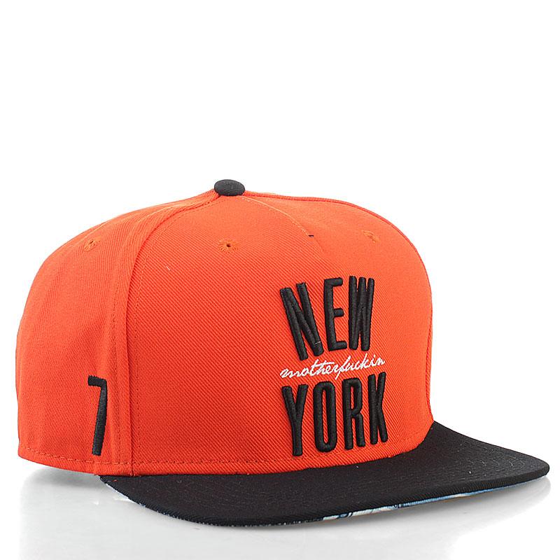 Кепка Ny FranchiseКепки<br>80% хлопок, 20% полиэстер<br><br>Цвет: оранжевый<br>Размеры US: one<br>Пол: Мужской