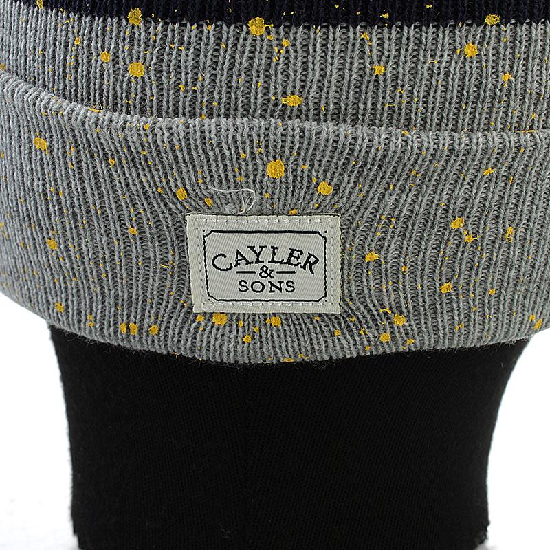 мужскую серую  шапка c&s cray pom pom cay-aw13-bn-04-01 - цена, описание, фото 2