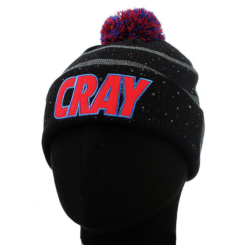 мужскую черную  шапка cay  cray bn-blk-red-gry - цена, описание, фото 1