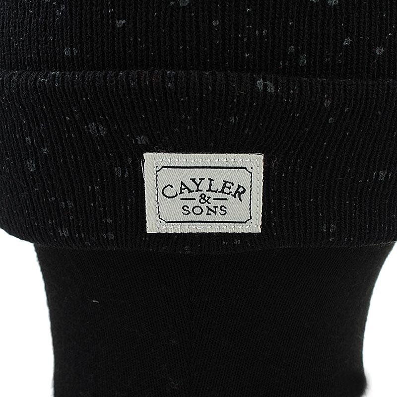 мужскую черную  шапка cay  cray bn-blk-red-gry - цена, описание, фото 2