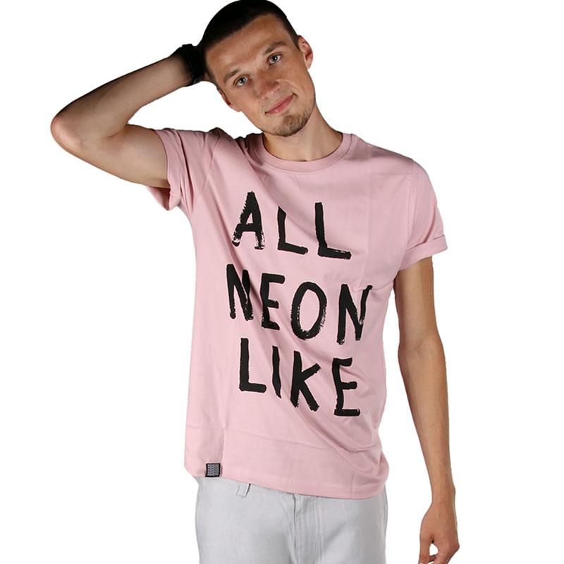 Футболка NeonФутболки<br>100% хлопок<br><br>Цвет: розовый<br>Размеры US: S;M;L;XL<br>Пол: Мужской