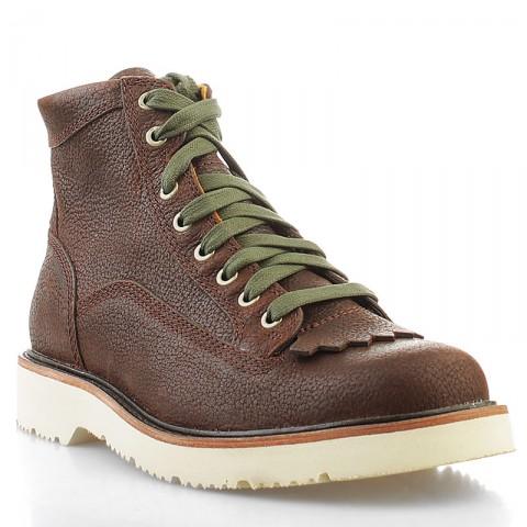 мужские коричневые  ботинки timberland abington tbl6763rm - цена, описание, фото 1