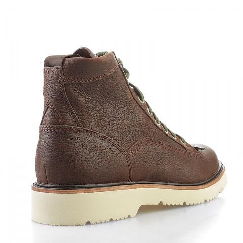 мужские коричневые  ботинки timberland abington tbl6763rm - цена, описание, фото 2