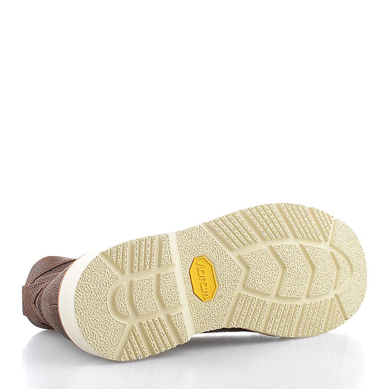 мужские коричневые  ботинки timberland abington tbl6763rm - цена, описание, фото 4