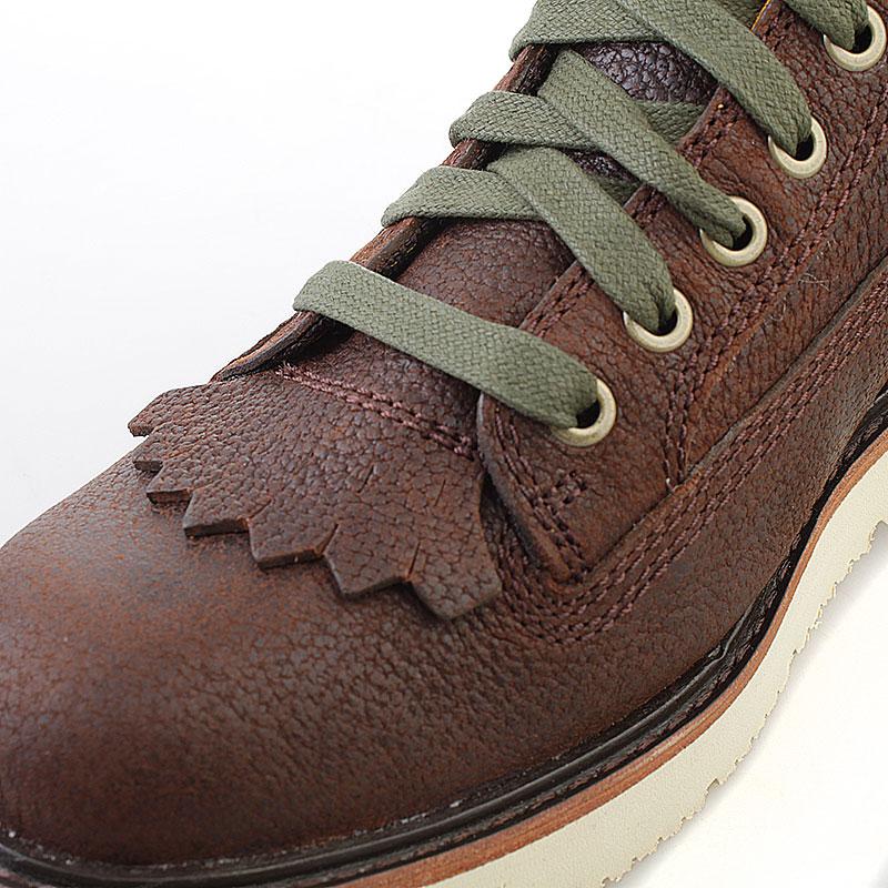 мужские коричневые  ботинки timberland abington tbl6763rm - цена, описание, фото 5