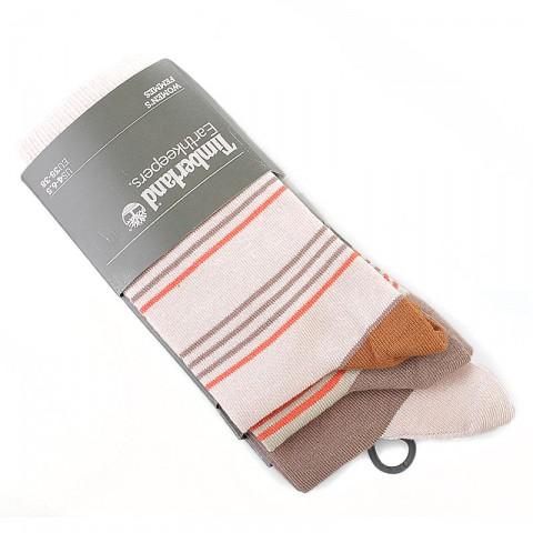 мужские розовые, кремовые, коричневые  носки 3 пары в упаковке j0163/248 - цена, описание, фото 1