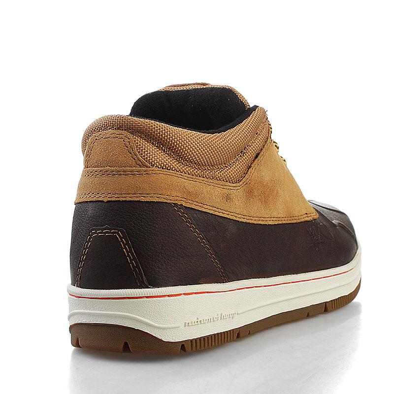 8eda56e4 мужские коричневые ботинки k1x shellduck low 1000-0165/7727 - цена,  описание,