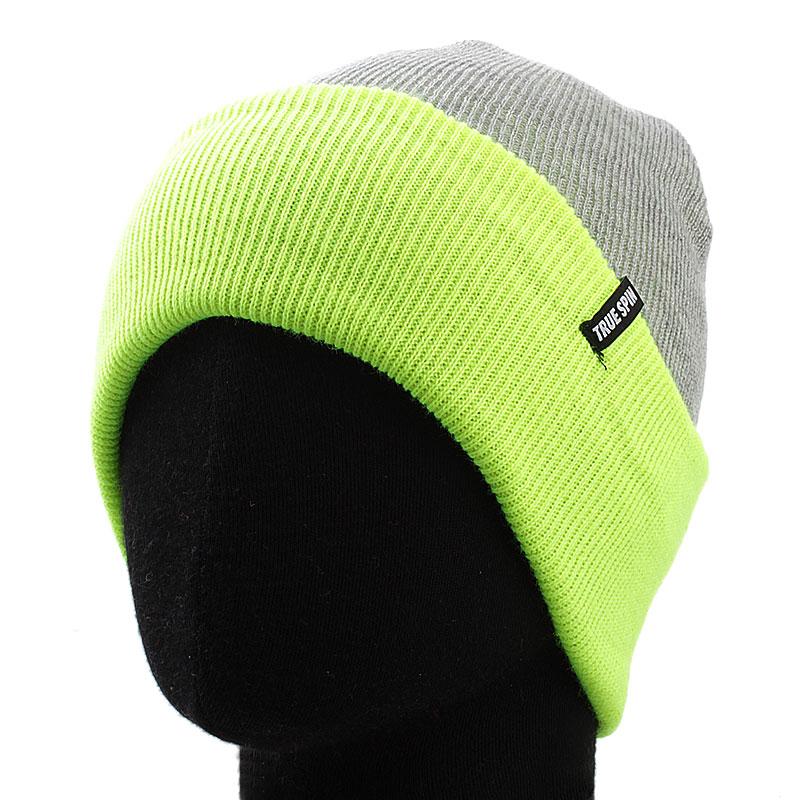 Шапка Neon ToneШапки<br>100% акрил<br><br>Цвет: серый<br>Размеры : OS<br>Пол: Мужской