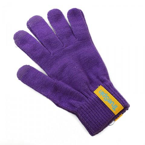 Купить мужские фиолетовые  перчатки touch в магазинах Streetball - изображение 1 картинки