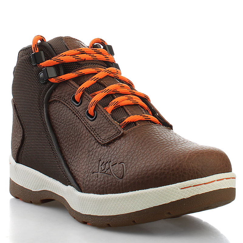 Ботинки K1X H1ke Le GSБотинки<br>кожа, синтетика, резина<br><br>Цвет: темно-коричневый<br>Размеры US: 5<br>Пол: Детский