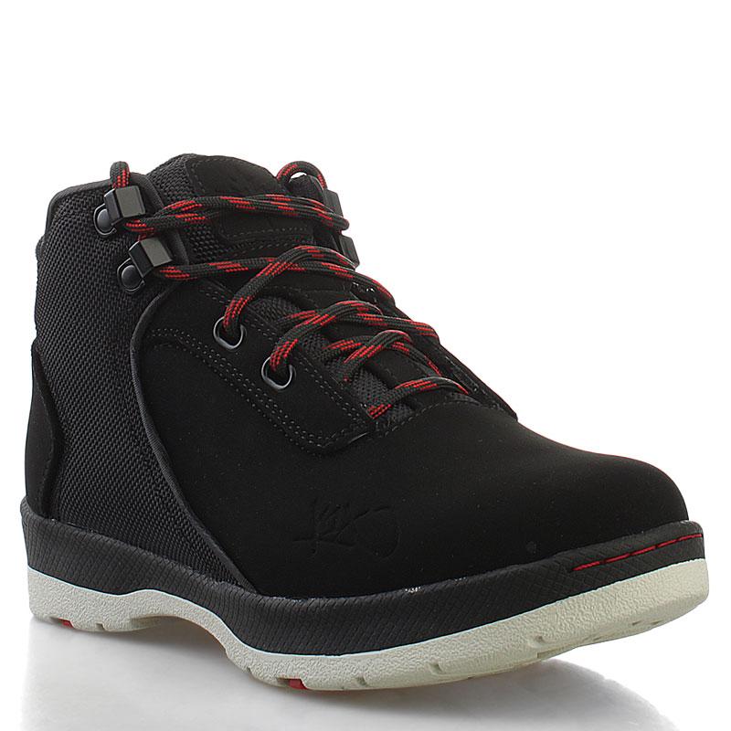 Ботинки K1X H1ke Le GSБотинки<br>кожа, синтетика, резина<br><br>Цвет: черный<br>Размеры US: 3.5;5.5<br>Пол: Детский