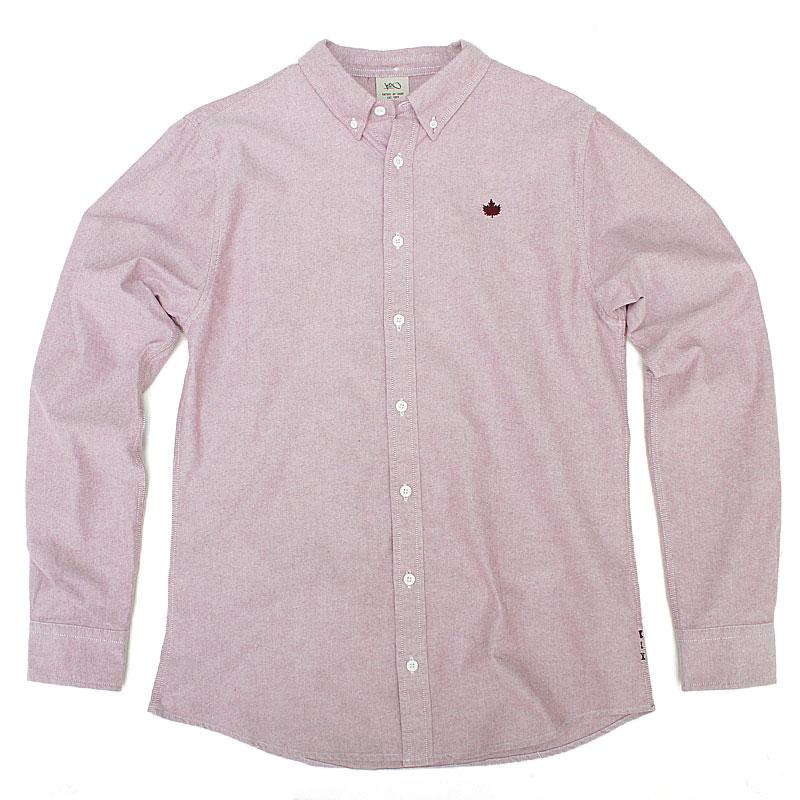 Рубашка Leaf ChamberyПоло рубашки<br>100% хлопок<br><br>Цвет: розовый<br>Размеры US: XL<br>Пол: Мужской