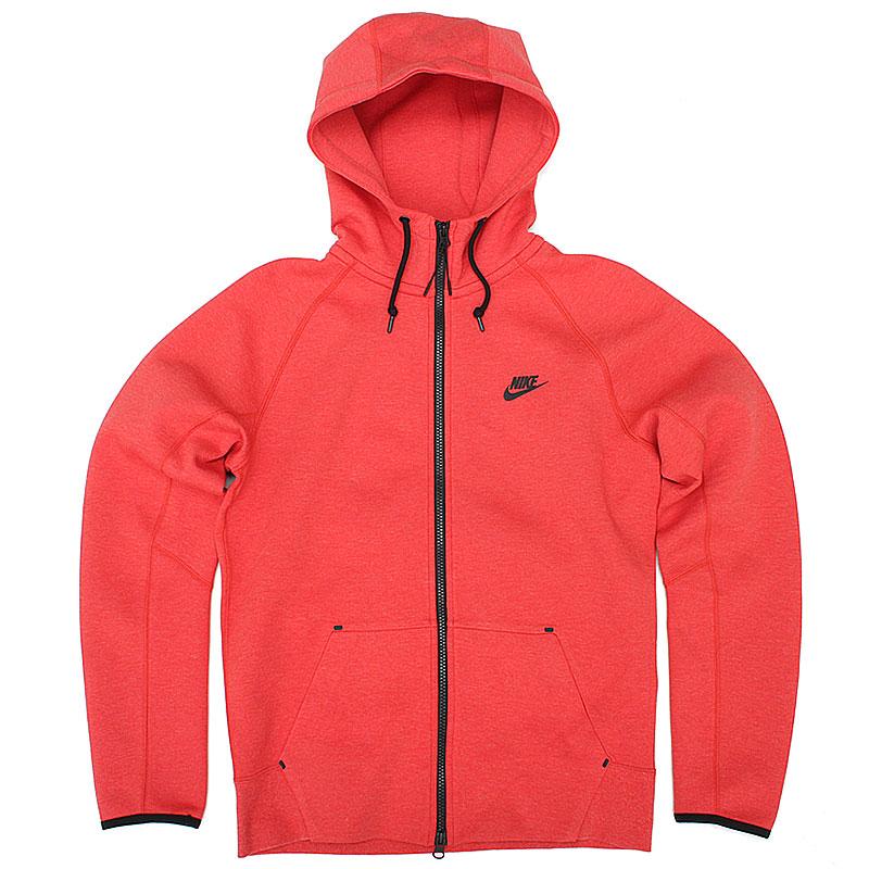 Толстовка Tech AW77 FZТолстовки свитера<br>66% хлопок, 34% полиэстер<br><br>Цвет: красный<br>Размеры US: S
