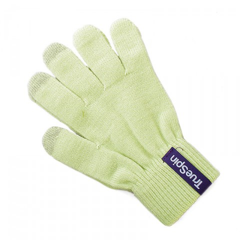 мужские салатовые  перчатки touch glove-sand - цена, описание, фото 1
