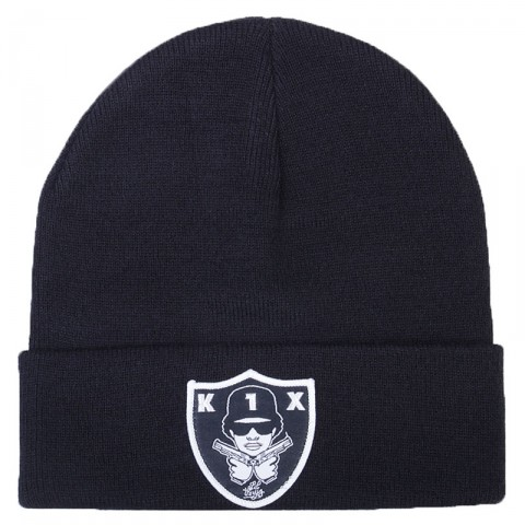 черную  шапка k1x easy beanie 1800-0273/0001 - цена, описание, фото 1