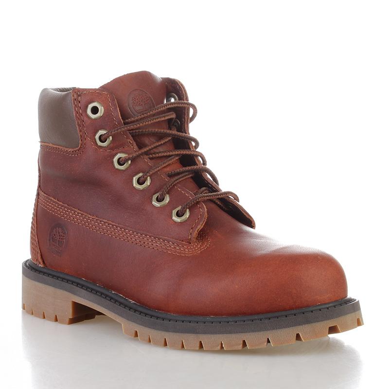 Ботинки TimberlandБотинки<br>шерсть, нейлон, акрил<br><br>Цвет: коричневый<br>Размеры US: 1;1.5;13<br>Пол: Детский