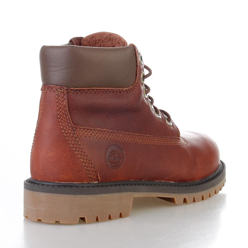 детские коричневые  ботинки timberland tbl6279rm - цена, описание, фото 2