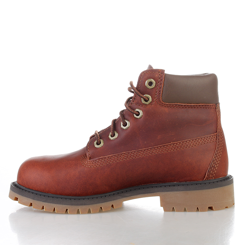 детские коричневые  ботинки timberland tbl6279rm - цена, описание, фото 3