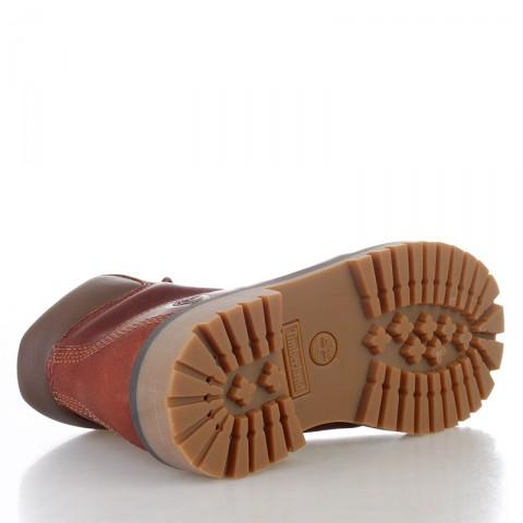 детские коричневые  ботинки timberland tbl6279rm - цена, описание, фото 4